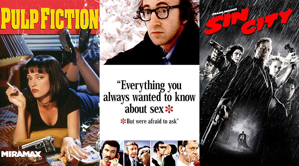 Anthology Films: 'Pulp Fiction', 'Everything You Always Wanted to Know About Sex *But Were Afraid to Ask', 'Sin City'