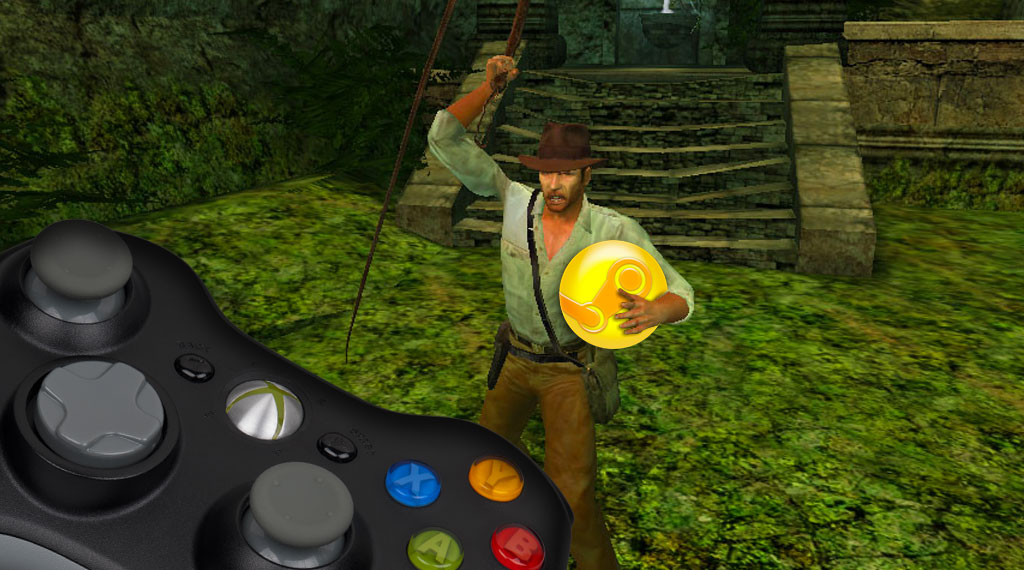 Add 'Indiana Jones and the Emperor's Tomb' to Steam and play with the XBox 360 Controller